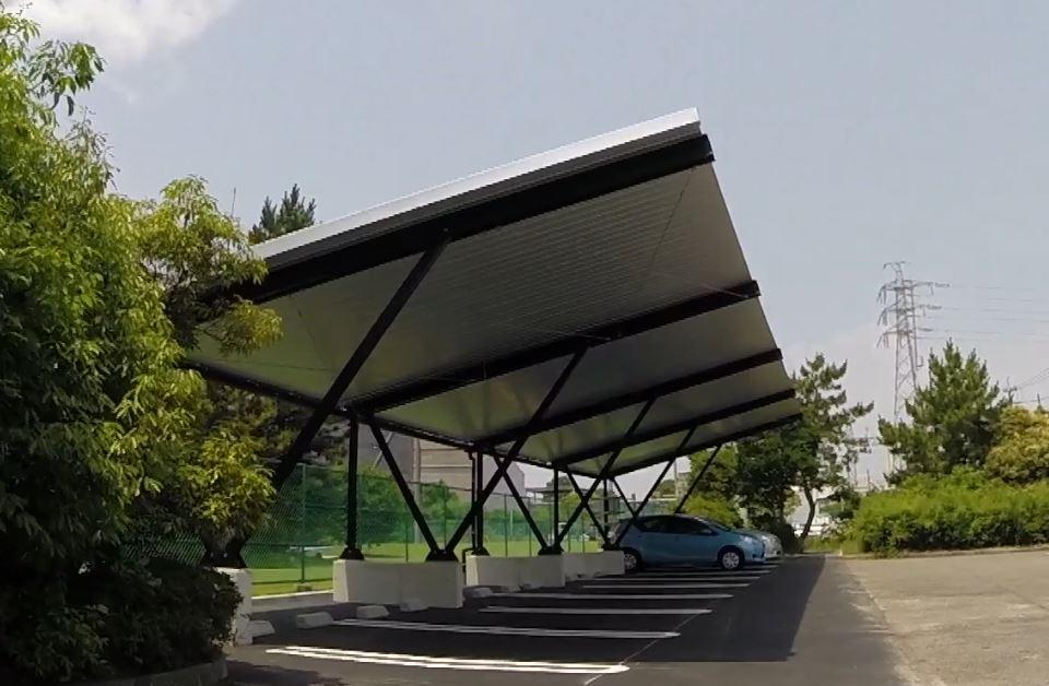 solar carports solarparking. Black Bedroom Furniture Sets. Home Design Ideas